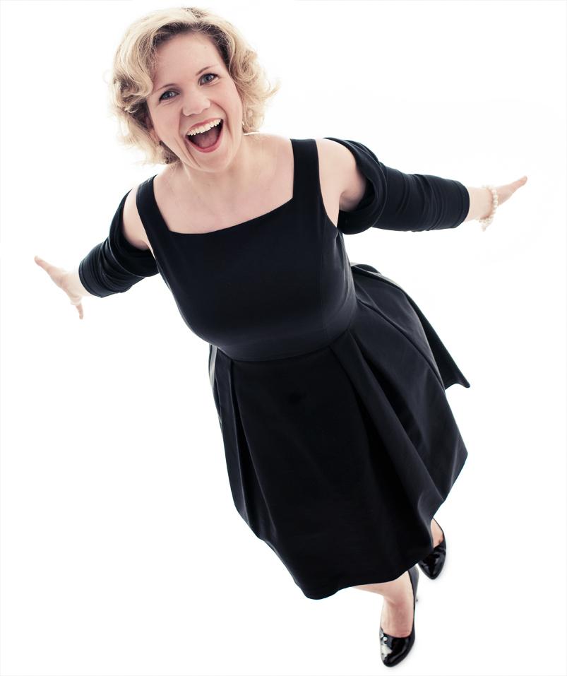 Opern-Sängerin Linda Joan Berg aus Hamburg.
